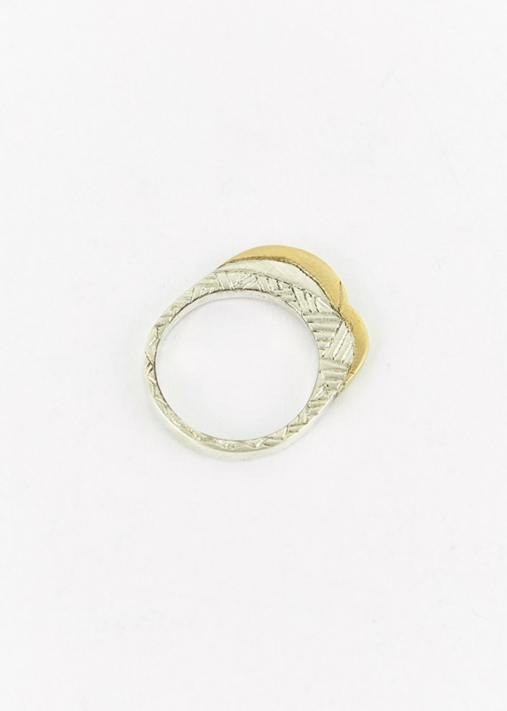 Ombre Claire Ring Dunes silber bronze