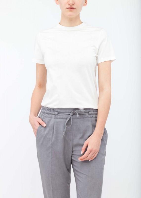 FunktionSchnitt Shirt Plain weiß