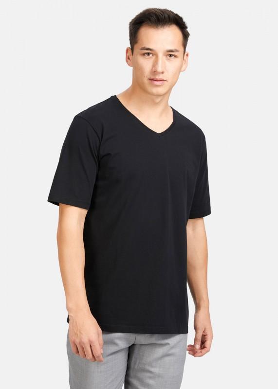 Funktionschnitt Shirt VEE schwarz