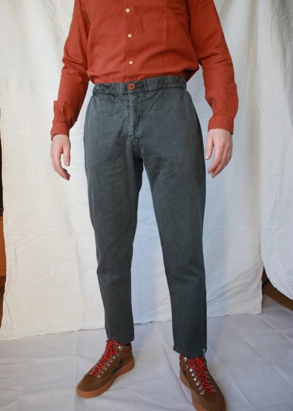 Sweaterhouse Stoffhose washed grey