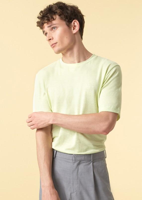 Funktionschnitt, Shirt Iconic Leinen