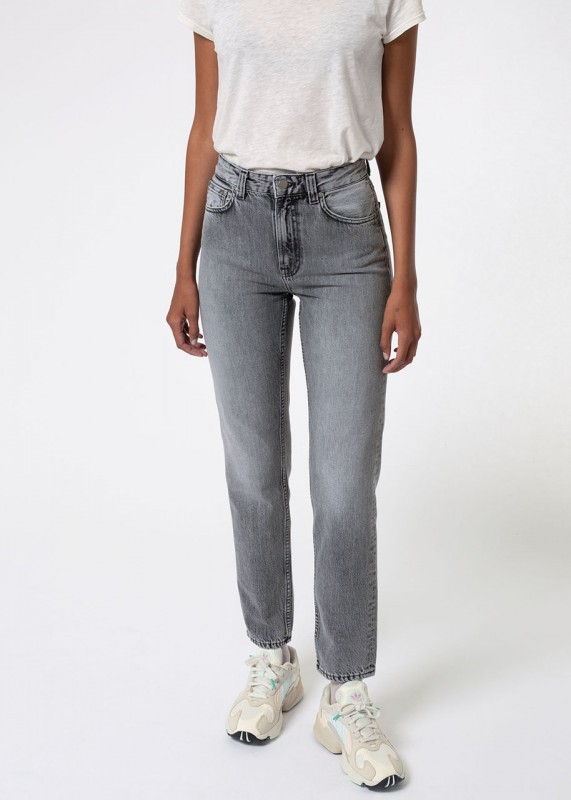 Nudie Jeans Breezy Britt lazy grey
