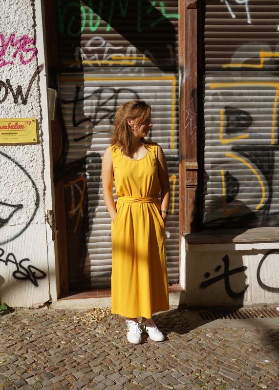 Suite 13 Kleid Jersey gelb