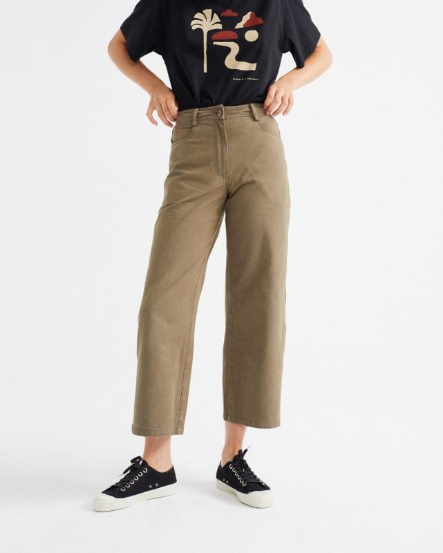 Thinking Mu Green Elephant Pants