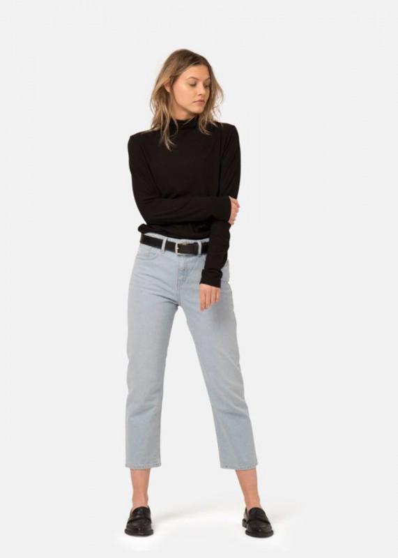 Cropped Mimi - verkürzte Mom Jeans, sun stone