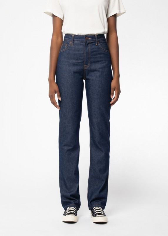 High Waist Jeans - Lofty Lo Dry Blues