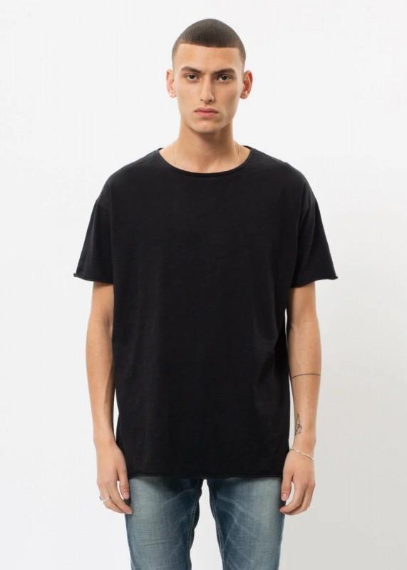 Shirt aus Biobaumwolle, schwarz