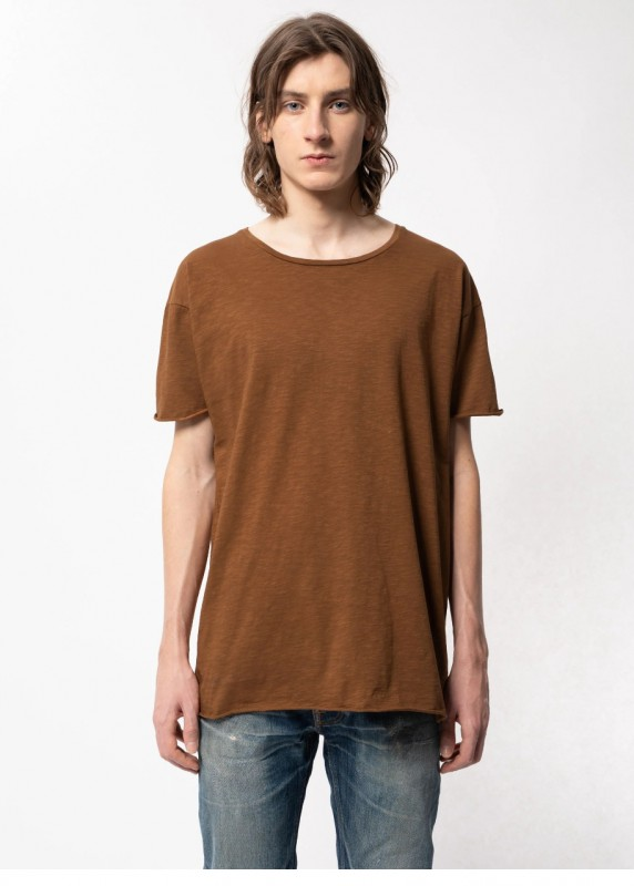 Shirt aus Biobaumwolle, cinnamon