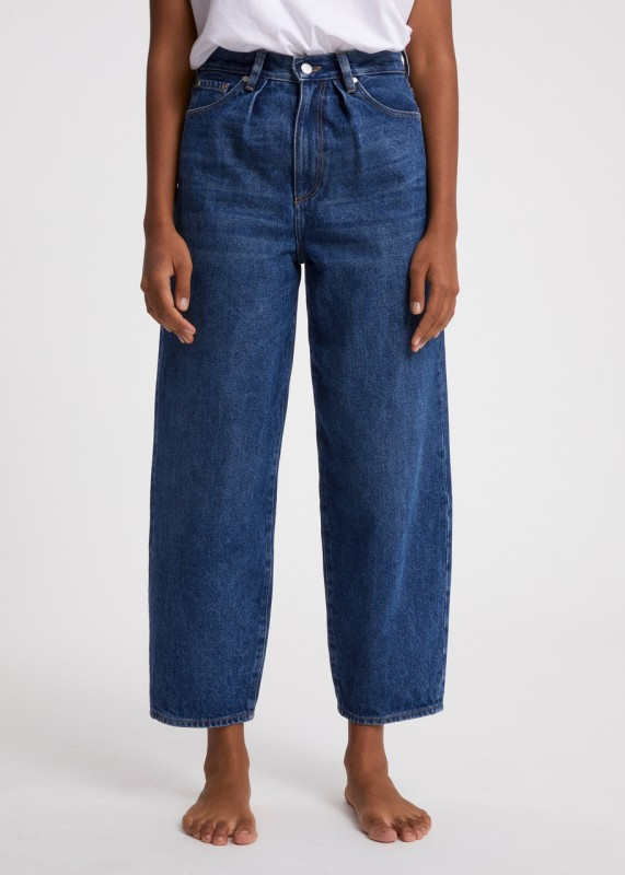 AANIKE Loose Fit Mid Waist Jeans, retro washed