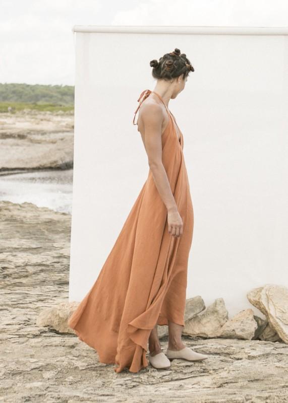 Suite 13 Daphne Linen Dress maxi