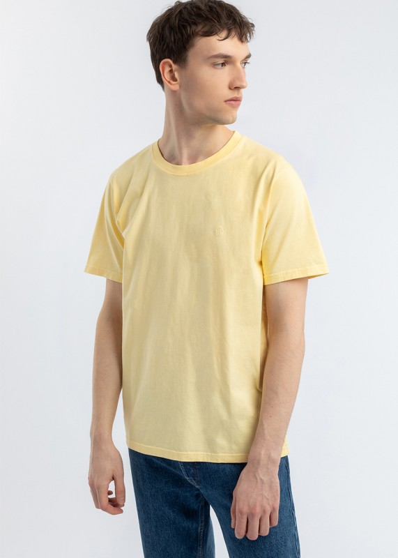 RIGHTS T-Shirt Zitronengelb