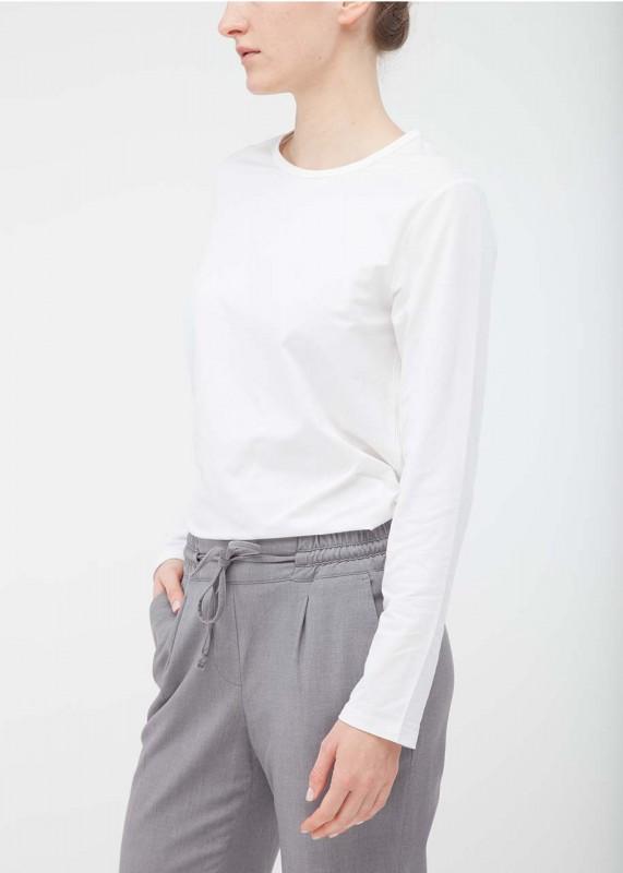 FunktionSchnitt Shirt Stretch weiß