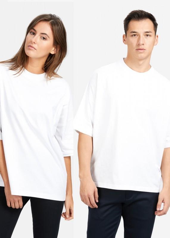 FunktionSchnitt Shirt Unisex Play weiß