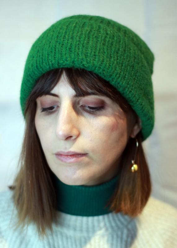 Inti Mütze grün