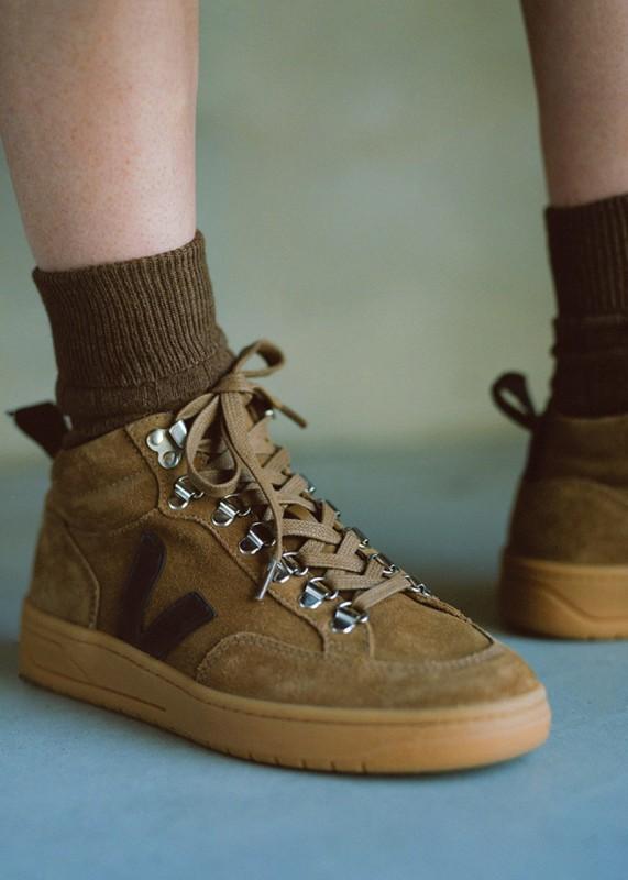 Roraima Suede Brown Black - Wildleder Sneaker
