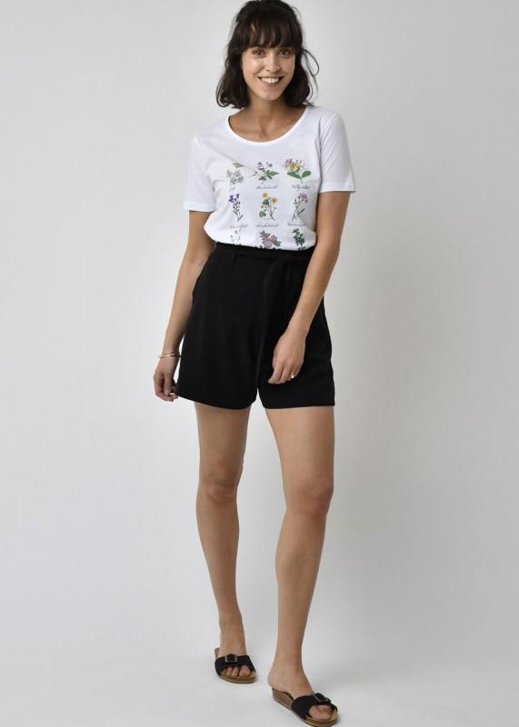Lovjoi Shorts Tencel schwarz