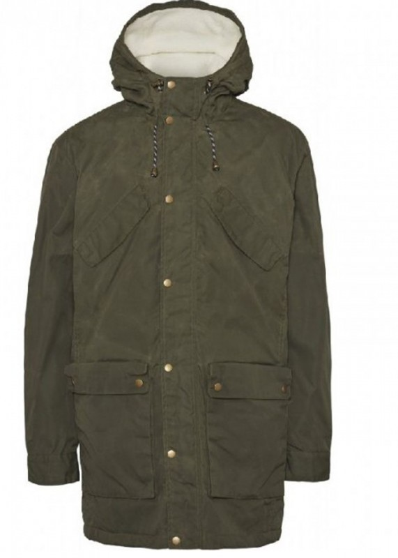 Nordic Legacy Expedition long jacket, forest night