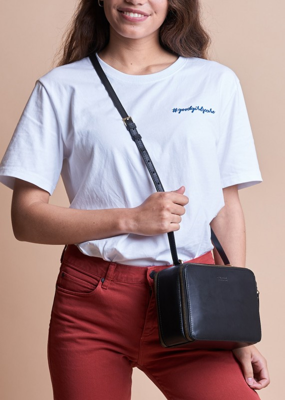 O My Bag Bee's Box Bag classic black