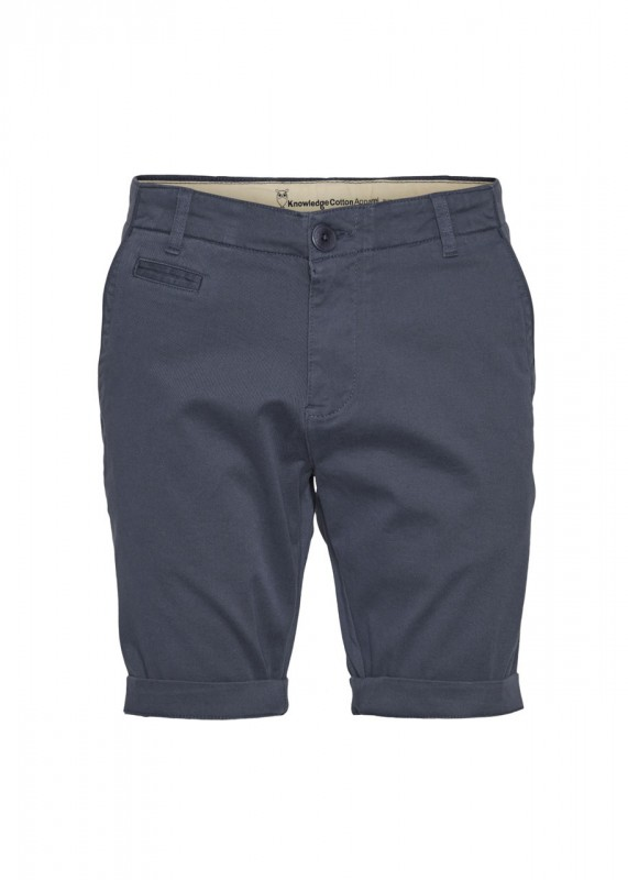 Knowledge Cotton Apparel Shorts CHUCK indigo