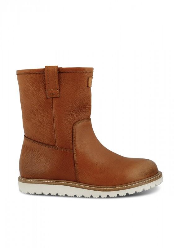 Winter-Stiefel aus Leder, warm gefüttert