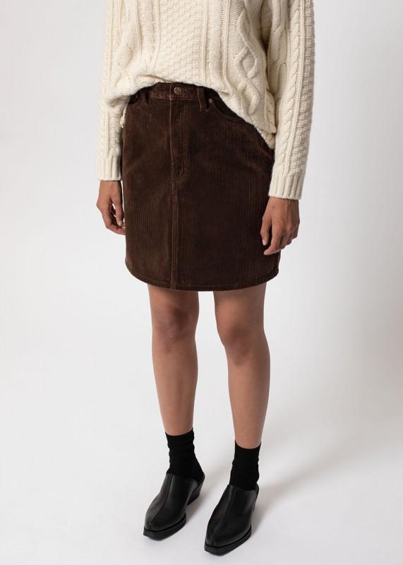 Nudie Jeans Hanna Skirt Brown