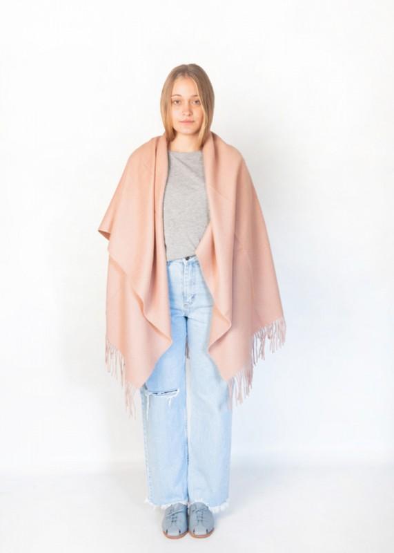 Guacha - Schal aus Baby Alpakawolle, soft nude pink