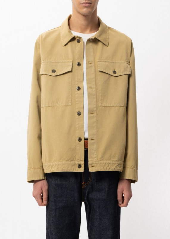 Colin Utility Overshirt Oat