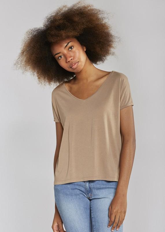 Les Racines Du Ciel V neck t shirt braun