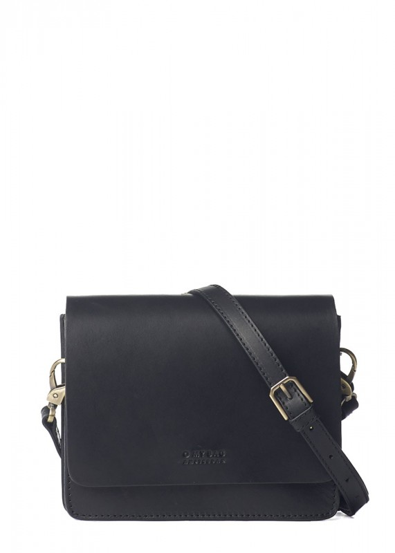 O My Bag Tasche Audrey Mini black classic leather