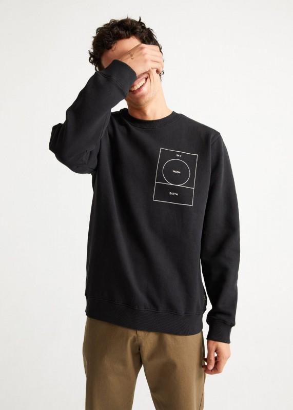 Thinking Mu RYAN CARL Sweatshirt, black