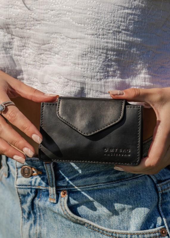 HARMONICA Wallet, Cognac Classic Leather