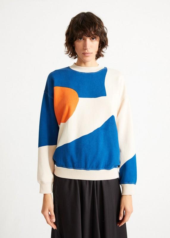 ABSTRACT FULL PRINTED Sweatshirt