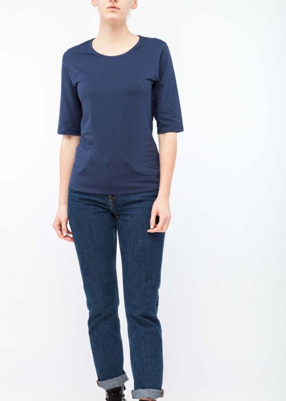 FunktionSchnitt Shirt Ease navy