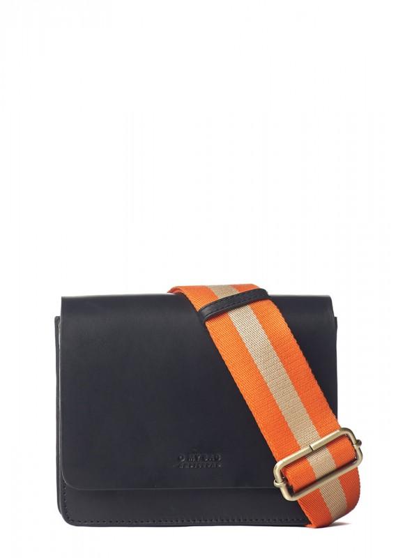 O My Bag Tasche Audrey Mini black classic leather