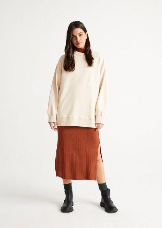 JANE OVERSIZE Sweatshirt, bone