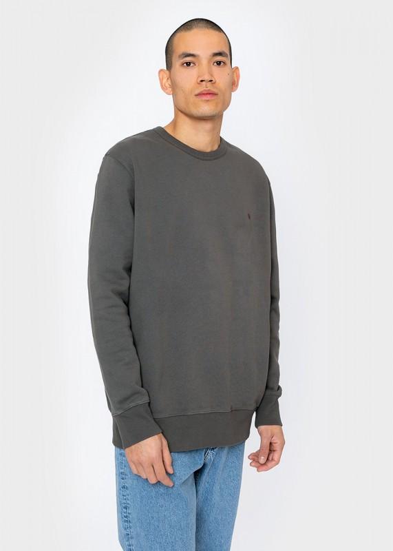 Rotholz Rights Bio Sweatshirt, charcoal