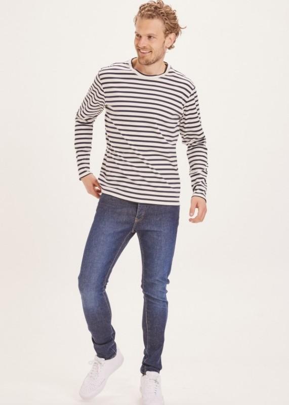 ASH tapered slim fit jeans deep blue