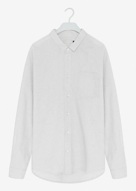 SIMON Hemd, Stone Linen