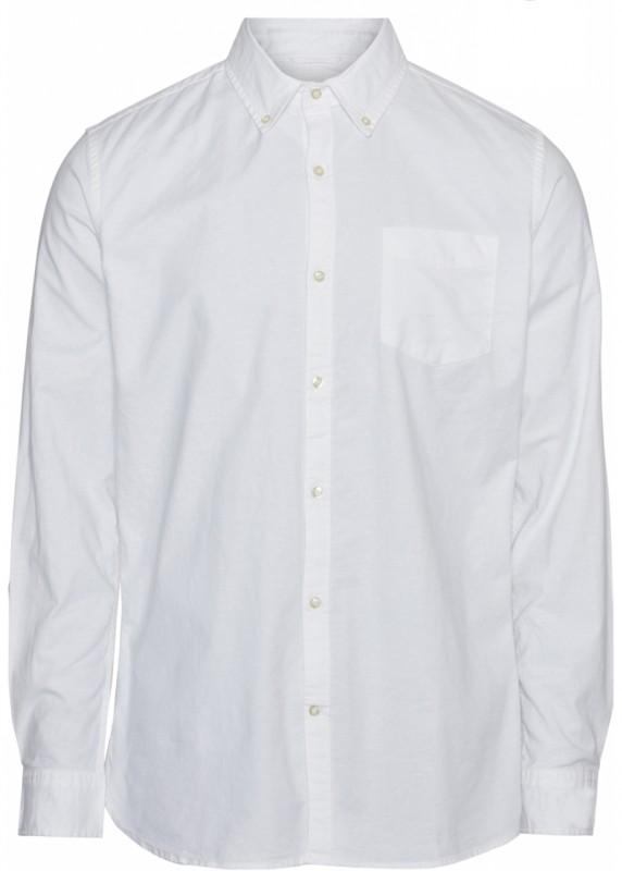 ELDER regular fit stretch oxford shirt - GOTS/Vegan