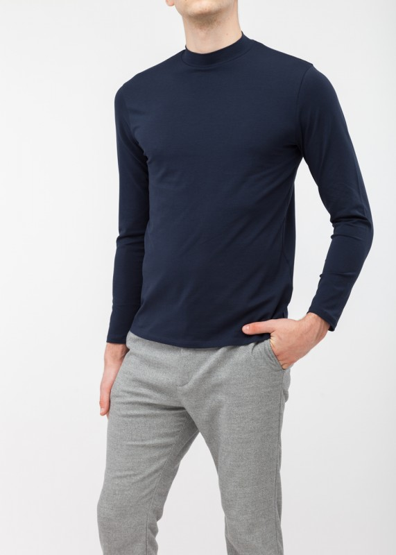 FunktionSchnitt, HIGH Longsleeve navy