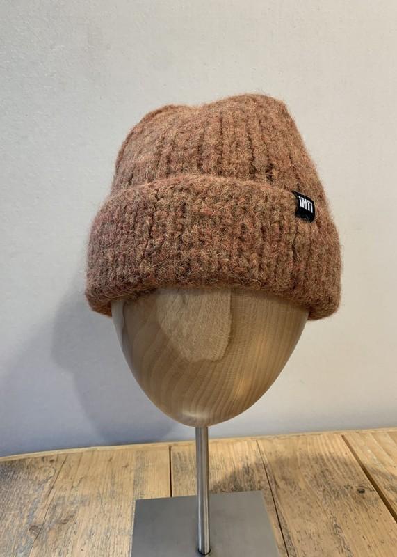 Soft Mütze aus Baby Alpaka, madera