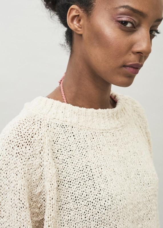 LYRA - Tape Yarn Organic Cotton Sweater