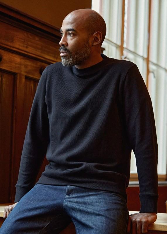 GARWIN Pullover Eco Rib Black