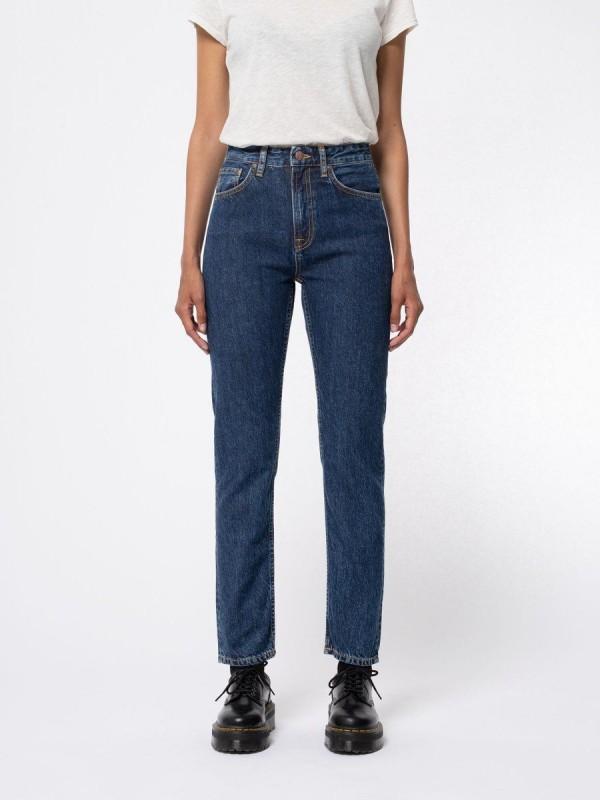 Breezy Britt Dark Stellar, Mom Fit Jeans