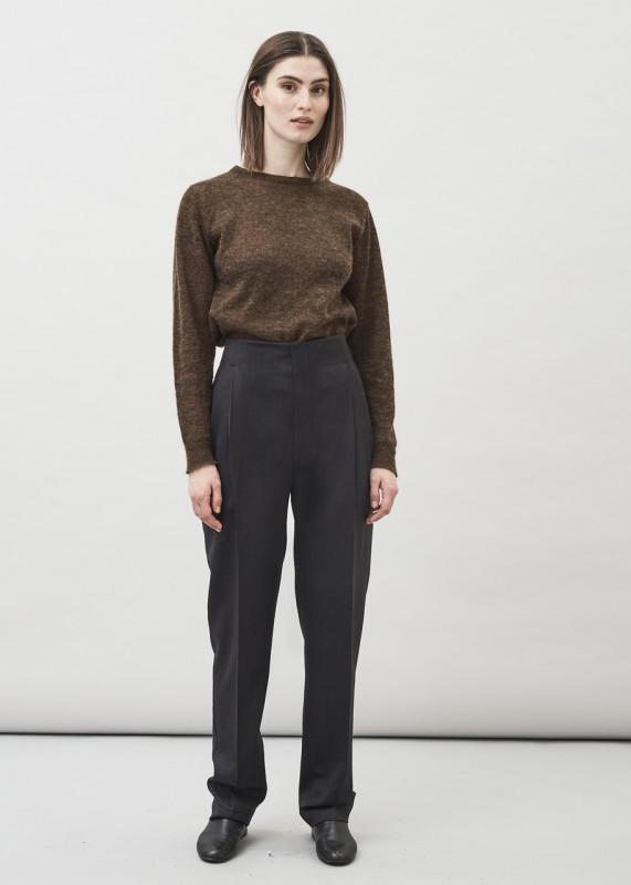 Maska Rue High Waist Wool Trousers