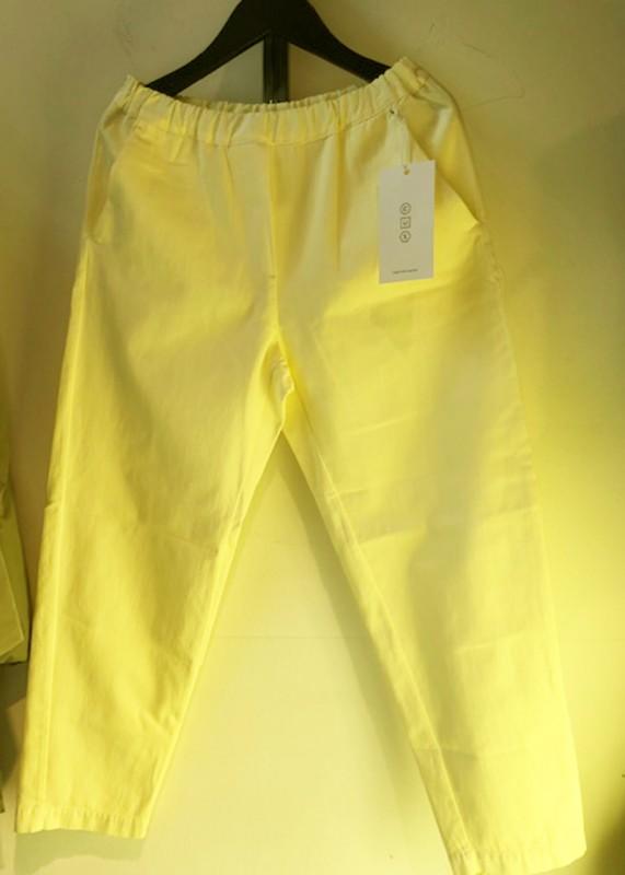 CUS Tencelhose Zerith tender yellow