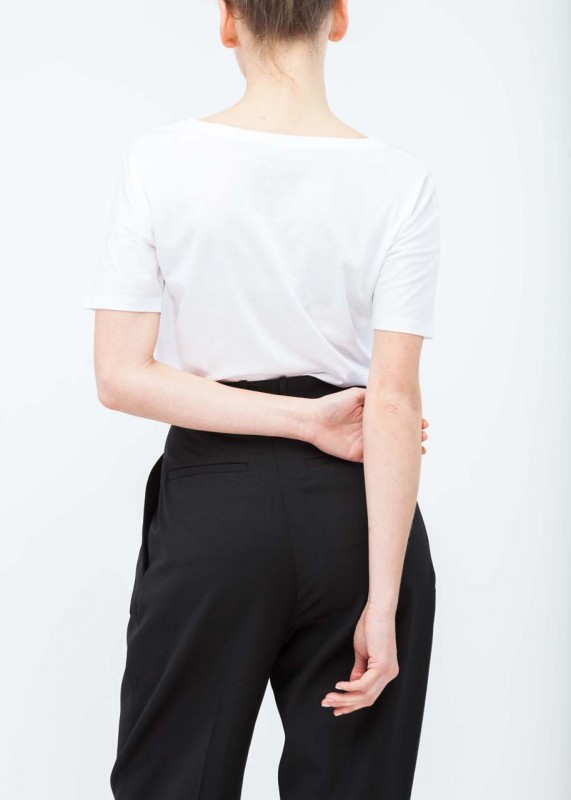 FunktionSchnitt Shirt Batty weiß