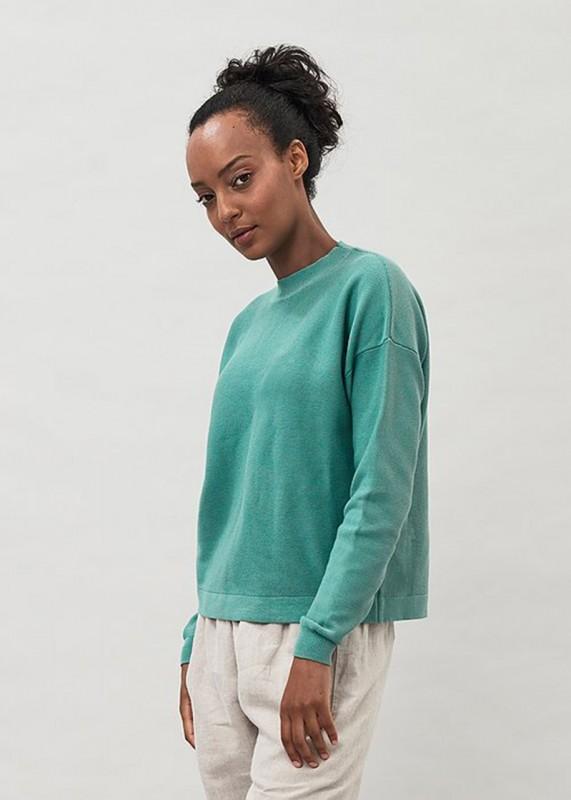 Maska Nela - Garter Stitch Organic Cotton Sweater