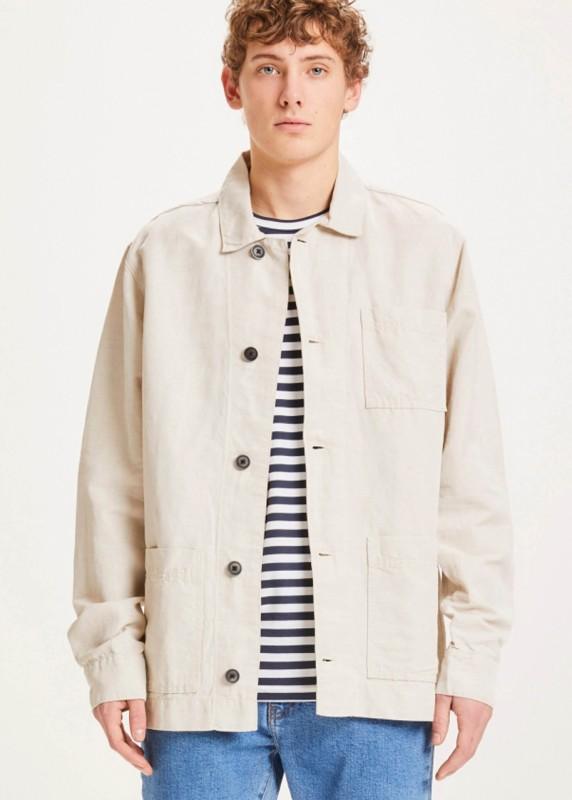 BLACKHORN light linen jacket - GOTS/Vegan