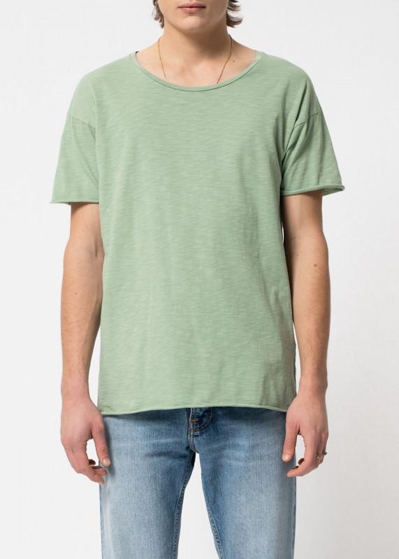 Nudie Jeans Roger Slub pale green